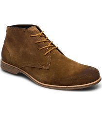 fall mid suede shoe desert boots snörskor brun sneaky steve