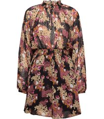 delicate semi mini dress korte jurk multi/patroon by ti mo