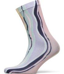tie dye corella sock lingerie socks regular socks rosa becksöndergaard
