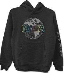 freeze 24-7 juniors' cotton nasa hoodie