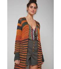 casaco oh, boy! tricot laranja - kanui