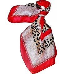 pañuelo bandana encaje rojo viva felicia