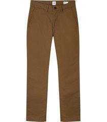 pantalon khaki slim café gap