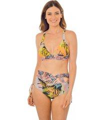bikini de pretina meditaerráneo multicolor ac mare