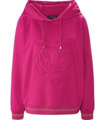 sweatshirt met lange mouwen van looxent roze