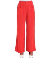 pantalón ancho  rojo nicopoly