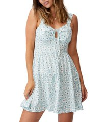 cotton on women's woven sandy skater dress
