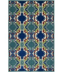 "kaleen a breath of fresh air fsr101-22 navy 5' x 7'6"" area rug"