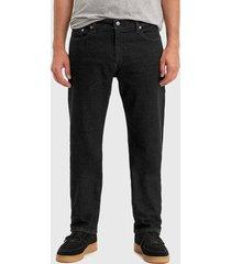jeans levis 505 regular native cali negro - calce ajustado