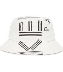 kenzo designer women's hats, nylon sport logo rain hat