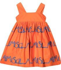 mimisol mi mi sol orange dress