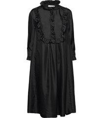 ivy dress knälång klänning svart lovechild 1979
