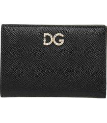 dolce & gabbana dolce & gabbana bifold leather wallet