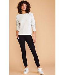 lou & grey travel ponte pocket leggings