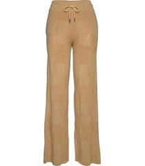 delicate trouser wijde broek beige holzweiler