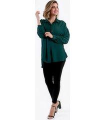 bluson con cuello verde night concept