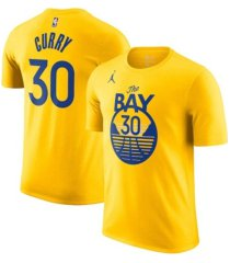 jordan golden state warriors youth statement name and number t-shirt - stephen curry