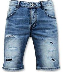korte broek enos korte broek gescheurde jeans short