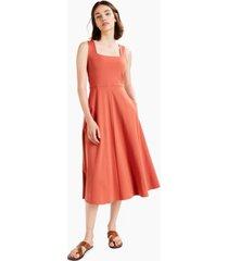 alfani petite square-neck midi dress, created for macy's