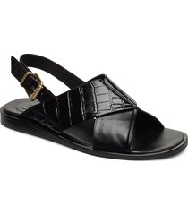 slipper 4176 shoes summer shoes flat sandals svart billi bi