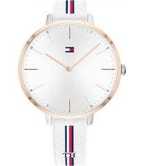 reloj blanco tommy hilfiger 1782156 - superbrands