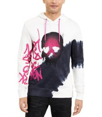 inc men's graffiti skull hoodie, created for macy's