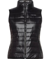 lt packable down vest vests padded vests zwart calvin klein