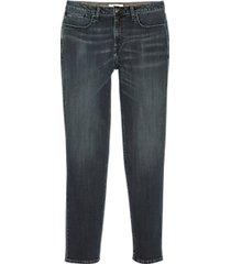 joseph abboud montrose blue-black wash straight-leg jeans