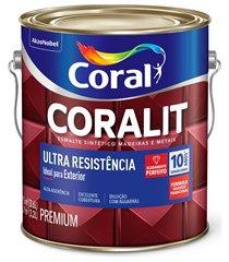 tinta esmalte coralit acetinado branco 3,6 litros