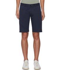 'razor' slim fit chino shorts