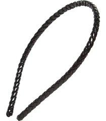 l. erickson braided headband in black at nordstrom