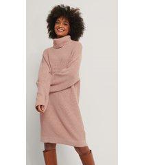misslisibell x na-kd tjock stickad tröja - pink