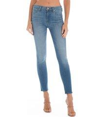 fidelity denim sola skinny jeans, size 27 in blue at nordstrom