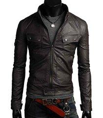men's leather jacket, slim fit jacket , leather jackets, slim fit leather jacket