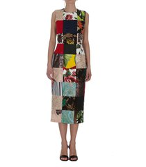 dolce & gabbana patchwork dress