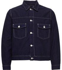cam jacket jeansjacka denimjacka blå wood wood