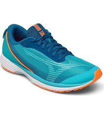 duel sonic 2 shoes sport shoes running shoes blå mizuno