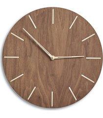 zegar ścienny drewniany, minimalistyczny