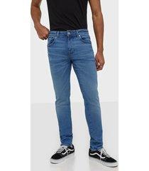 selected homme slhslim-leon 6211 lblue su-st jns w jeans ljus blå