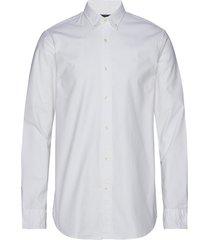 nos oxford shirt regular fit button down collar overhemd business wit scotch & soda