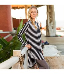 abigail striped tunic