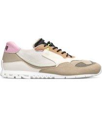 camper nothing, sneaker donna, beige/nero/grigio, misura 35 (eu), k200836-021