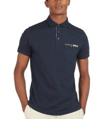 barbour men's corpatch polo shirt