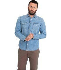 western jeans shirt
