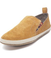 alpargata cuero party camel hush puppies