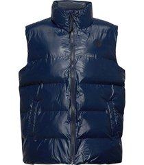 puffer vest vest blauw rains