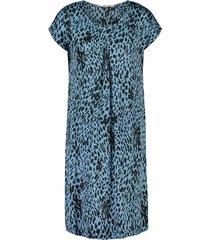 aaiko jurk madrid licht blauw