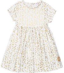 little girl's & girl's confetti sunday cotton dress