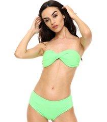 bikini verde lecol madison