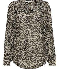 modesty bl blouse lange mouwen crème part two